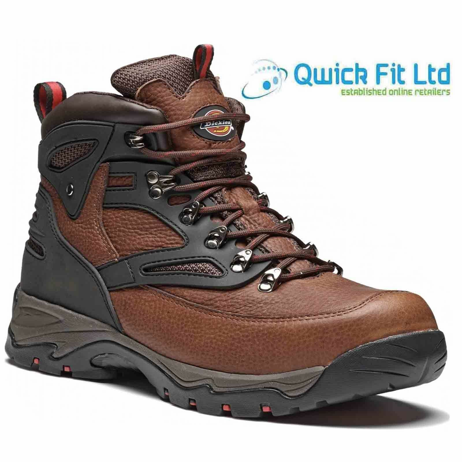 NEW WATERPROOF LEATHER SAFETY STEEL TOE CAP BOOTS WORK HIKING TRAINERS SHOES SZ