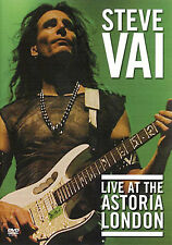 Steve Vai Live At The Astoria London GUITAR DVD x 2 NEW
