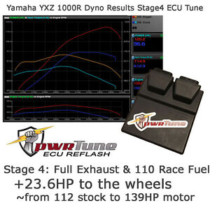 Details about YXZ 1000R ECU Reflash Stage 4 Tune 139hp pwrTune Full Exhaust  Tuning YXZ1000