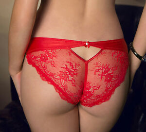 Image is loading ROZA-Ali-Sexy-Red-Lace-Briefs 06fd182b0