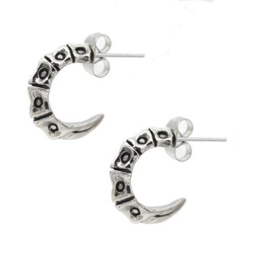 Scorpion coccyx Boucles d/'oreilles en acier inoxydable punk goth bijoux par controse
