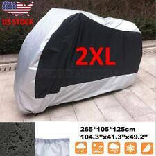 XXXL Dust Sun Motorcycle Cover For Honda Shadow VLX 600 Aero Phantom Spirit 750