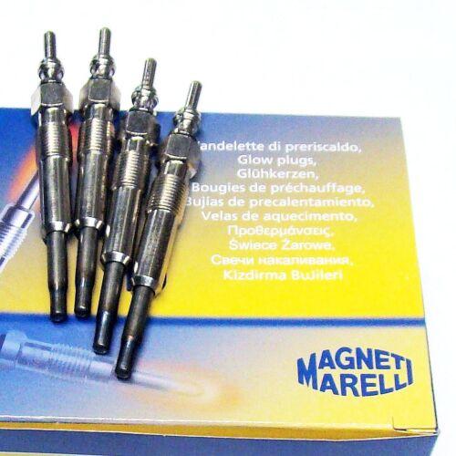 4 x Glühkerze Magneti Marelli SEAT Ibiza II III 1.9SDI 1.9TDI Inca 1.9SDI 1.9TDI