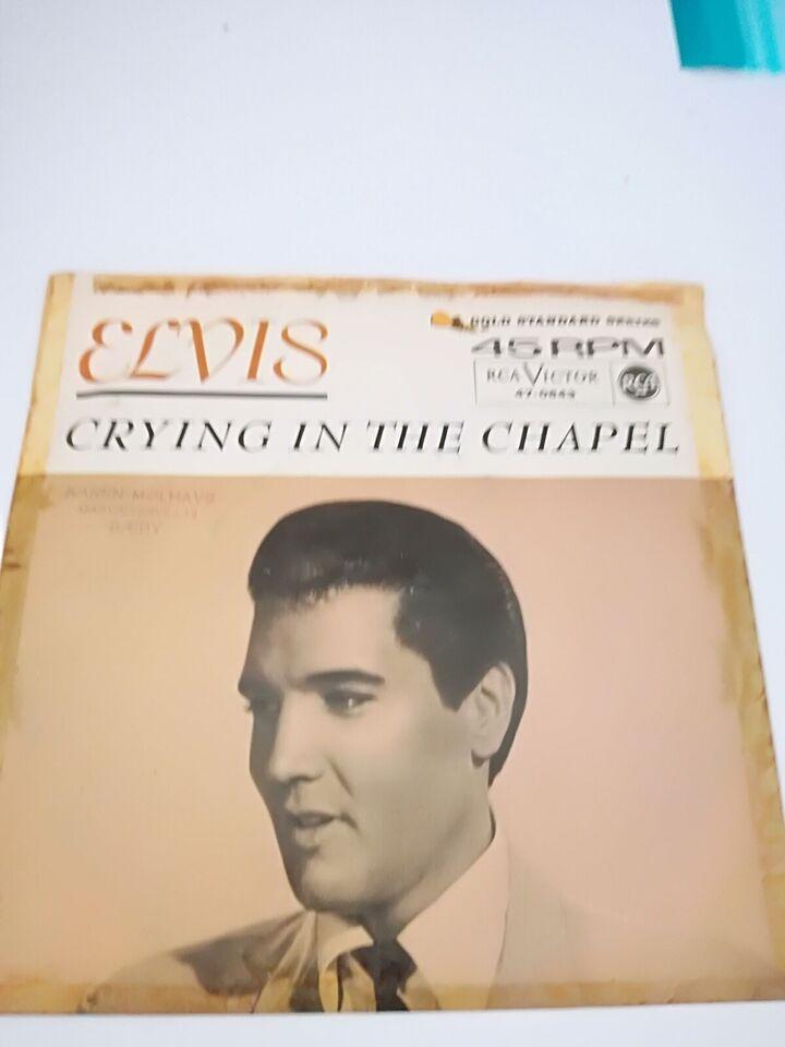 Single, Elvis Presley, Elvis singler. 5 stk.