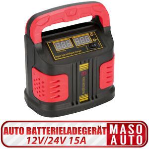 12V-24V-15A-Jump-Starter-Batteria-Smart-Auto-Caricabatterie-Motociclo-Camion
