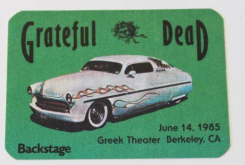 Grateful Dead Backstage Pass 6-14-85 Greek Theater Berkeley