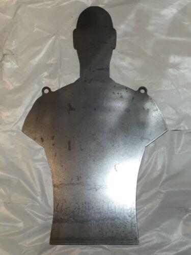 """AR500 Steel Torso Target Silhouette 3//8/"""" X 18/"""" X 30/"""" IPSC IDPA"""