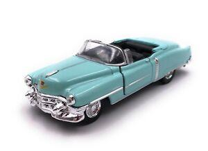 Modele-Cadillac-Eldorado-Voiture-Ancienne-Cabriolet-Turquoise-Auto-Masstab-1-3