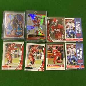 Kansas City Chiefs Football Card Lot (8-Cards) Super Bowl