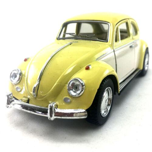 1967 Volkswagen Classic Beetle 2Tone Kinsmart 1:32 Die-Cast Model Toy Collection