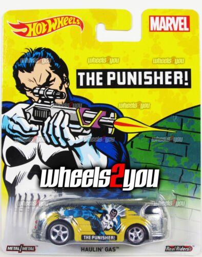 2016 Hot Wheels Pop Culture C Case MARVEL HAULIN GAS The Punisher
