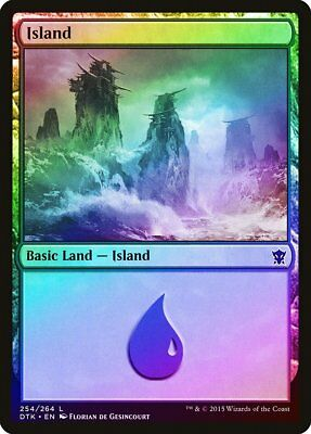 FOIL Invasion NM-M Basic Land MAGIC THE GATHERING MTG CARD ABUGames Island 336