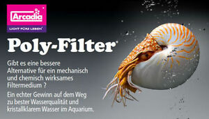 Arcadia-Poly-Filter-Aquaristik-Neuheit-20-x-10-cm-Filterpad-Polyfilter-Aquarium