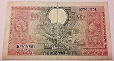 100 Francs 01-02-1943 - Type Londres Belgique 100 Frank Belgïe  SUP