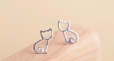 New Fashion Women 925 Sterling Silver Earrings Ear stud Cute Jewelry Gift's