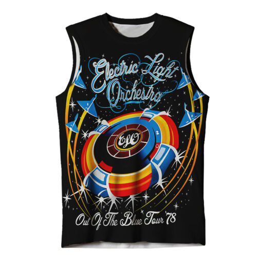 NEW ELECTRIC LIGHT ORCHESTRA SUB TEE TANK TOP FAN T-SHIRT US//US REG FIT /&SIZES