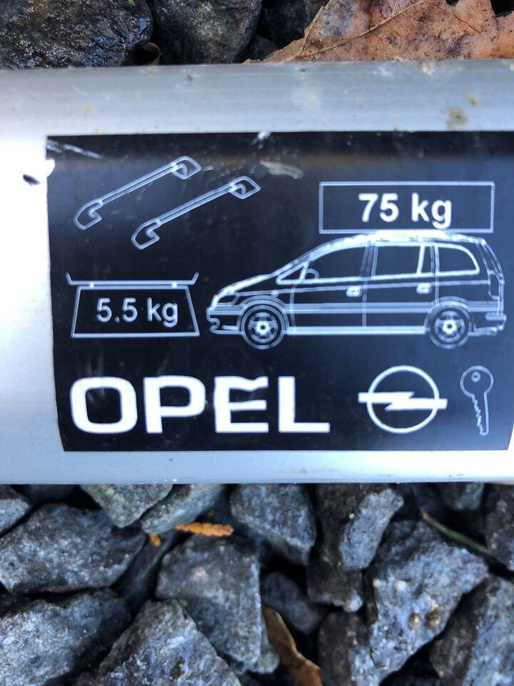 Tagbøjler, Opel