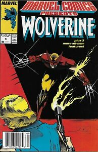 Wolverine-Comic-Issue-9-Marvel-Presents-Copper-Age-First-Print-1988-Claremont