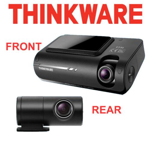 THINKWARE F770 hd 1080p vision nocturne GPS WiFi 32 Go avant et arrière Dash Cam caméra