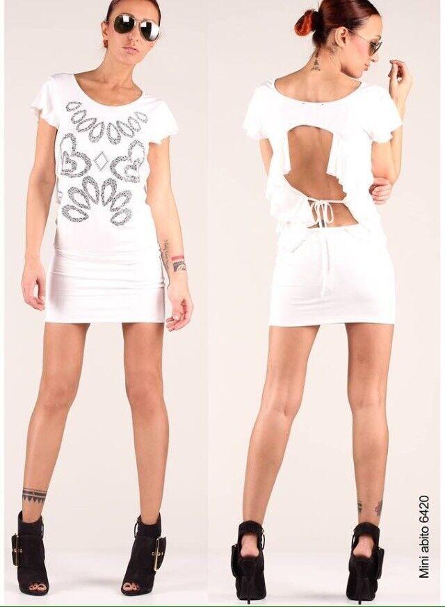 DENNY Rosa ABITO miniabito vestito art. 6420 tg. M