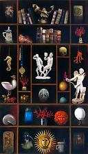 """STUNNING ORIGINAL ANTONIO SCIACCA """"The Absolut"""" Wunderkammer  OIL PAINTING"""