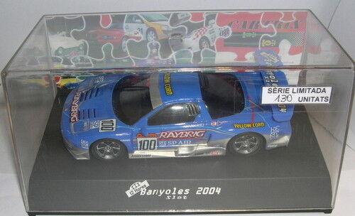CARTRIX SLOT CAR HONDA NSX III 12H. CITTÀ DI BANYOLES SLOT LIMITED ED. MB