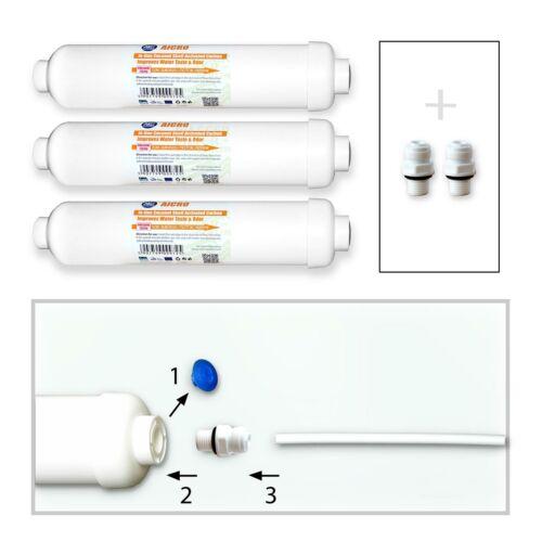 dd-7098 filtro acqua Side by Side 3x Filtro Frigorifero compatibile con wsf-100