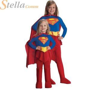 e21d07f0d084d fille de luxe Supergirl enfants Super Héros costume déguisement