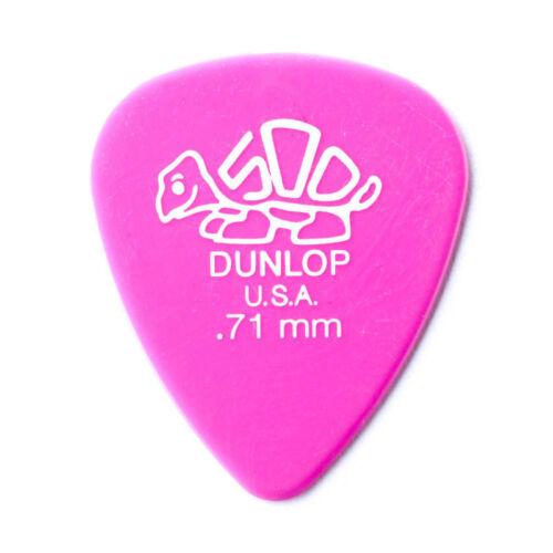 Jim Dunlop 0.71 mm Delrin 500 Electric Guitar Plectrum Pick JD-41