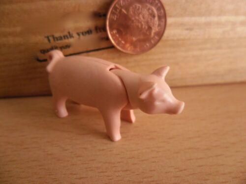 4056 Playmobil Pièces de rechange-utilisé Rose Porcelet//bébé cochon
