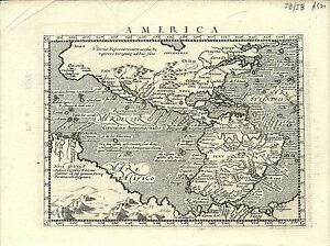Antique-map-America