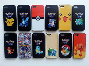 cute pokemon go Soft TPU Phone Case