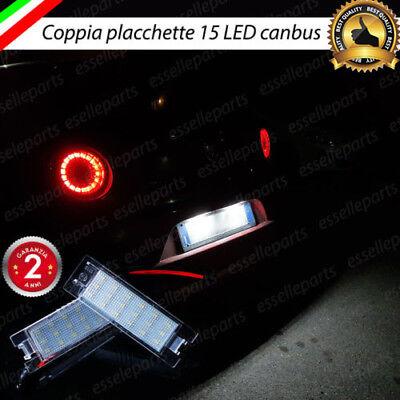PLACCHETTE A LED LUCI TARGA 18 LED SPECIFICHE PER ALFA ROMEO MITO 6000K NO ERROR