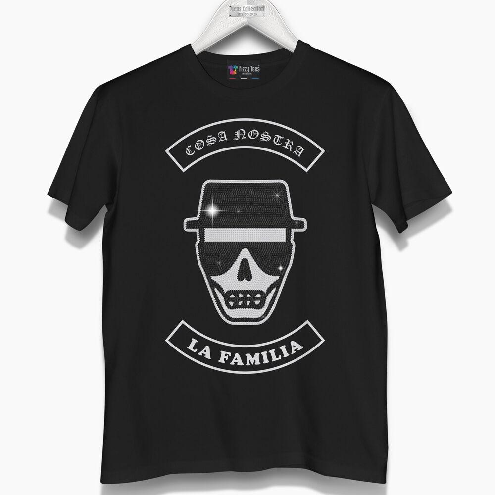 Uomo cosa nostra cristallizzato T-shirt (Nuovissimo) era .99