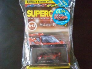 Details about Panini Model Supercars Collection Die-Cast Metal Issue # 2  McLaren P1 2013