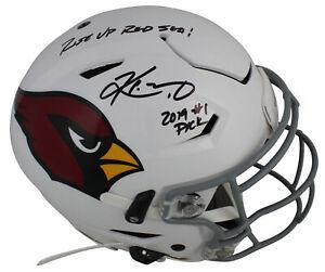 Cardinals-Kyler-Murray-2x-Inscrita-Firmado-F-S-Proline-Velocidad-Flex-Casco-Bas