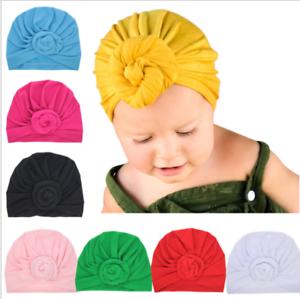 Newborn-Baby-Toddler-Turban-Knotted-Headband-Hair-Band-Accessories-Headwear
