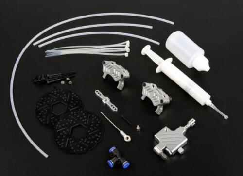 Front Wheel Hydraulic Brake System For 1//5 Scale Hpi KM Baja 5b 5SC RC Car Part