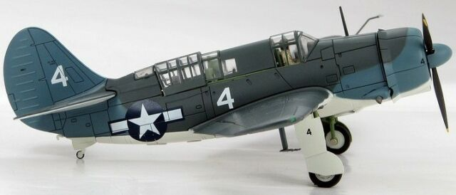 Hobby Master HA2201 Curtiss SB2C, USN VB-17, USS Bunker Hill, Sealed & Rare