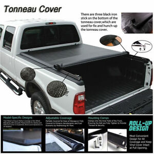 Fits-2004-2018-Ford-F150-Soft-ROLL-UP-Lock-Tonneau-Cover-5-5ft-66-034-Short-Bed