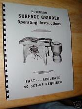 Peterson Surface Grinder Manual Vibra-Motive Model 48