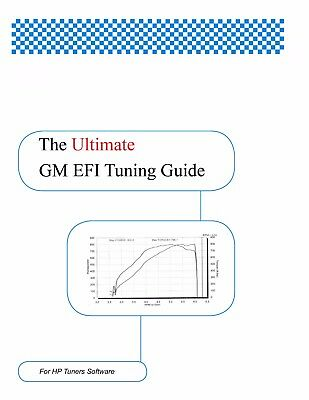 GM EFI Tuning Guide for HP Tuners Software: By Don LaSota | eBay