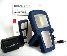 COB LED Profi Akkulampe Arbeitsleuchte Lampe Scangrip Miniform Taschenlampe