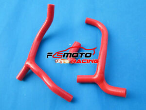 Silicone-RADIATOR-HOSE-For-Honda-CRF450-CRF450R-CRF-450-R-2009-2012-2010-11-RED