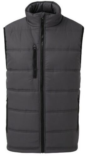 FORTRESS Mens QUILTED WARM Waistcoat BODY-WARMER Jacket Gilet The Carlton NEW