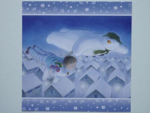 """3 Topper//Decoupage Hojas de /""""El Muñeco De Nieve /& Snowdog/"""" Collection elección de 4"""