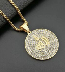 AYATUL-KURSI-PENDANT-ALLAH-DIAMONDS-NECKLACE-ISLAMIC-GIFT-FOR-MEN-WOMEN-UNISEX