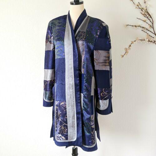 JEANNE MARC Collection Kimono Tunic Blouse 90s 80s