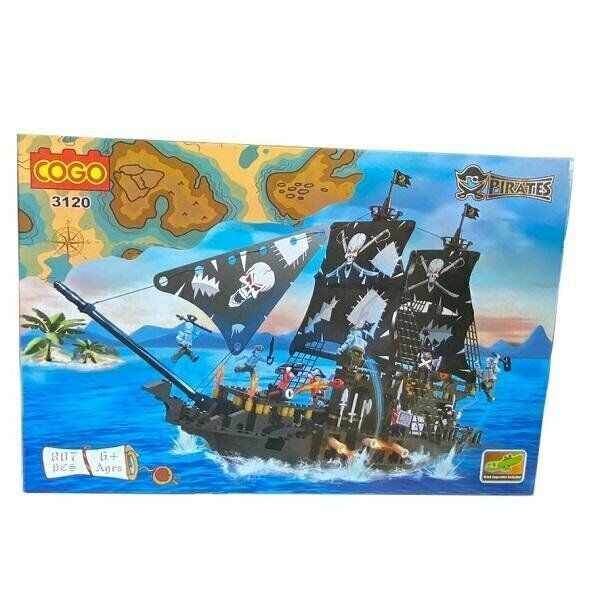 PIRATE SHIP 807 PCS BUILDING BLOCKS
