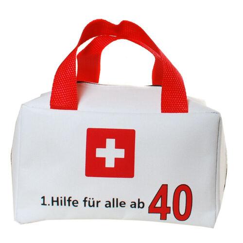 1.Hilfe 40 Geburtstag Tasche Geschenkverpackung witzige Geschenke Scherzartikel